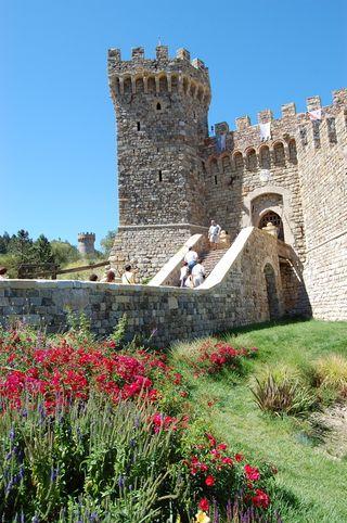 castello di amorosa. Castello di Amorosa Winery