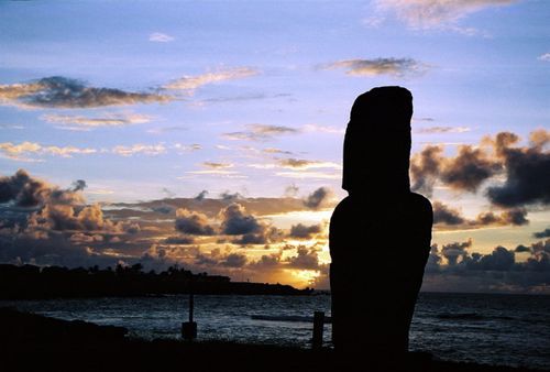 Easter Island Night