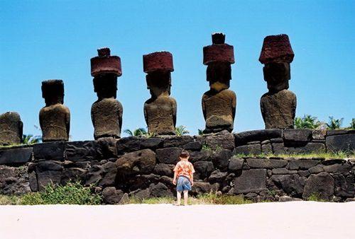 Easter Island Backs
