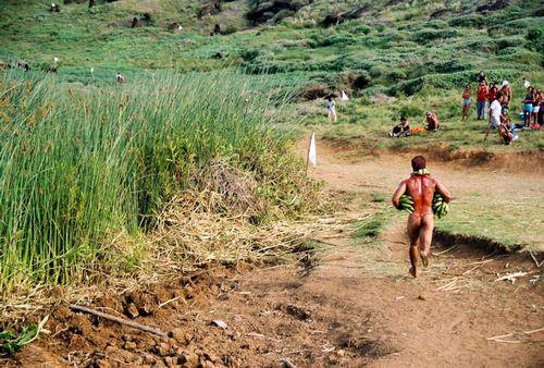 Easter Island Tapa Ti Runner