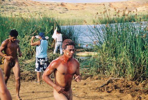 Easter Island runners
