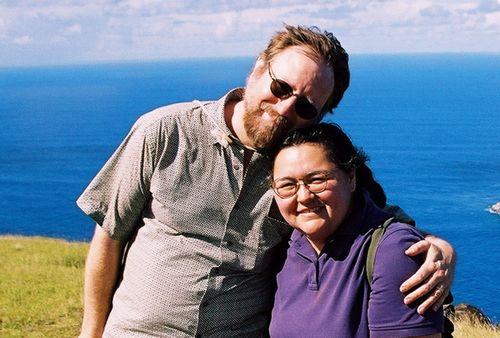 Easter Island Frank & Glennia