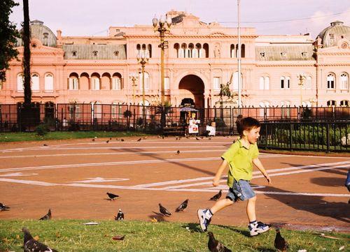 Buenos Aires Running Boy