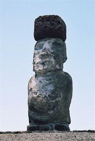 Easter Island Moai hat