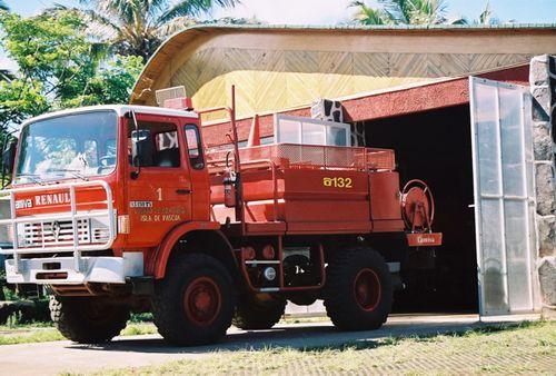 Easter Island Fire Truck