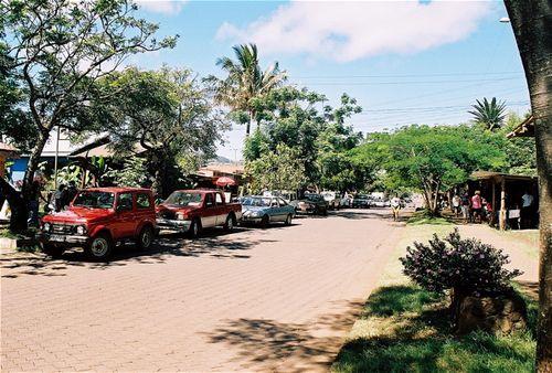 Easter Island Downtown Hanga Roa
