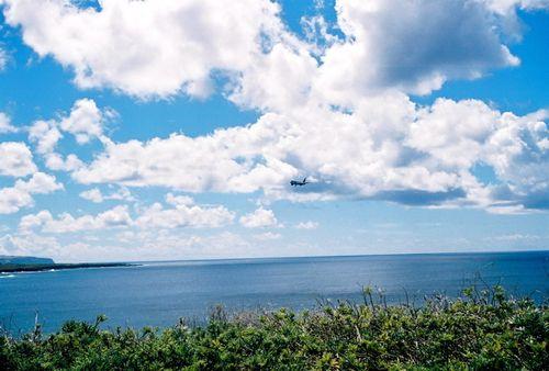Easter Island Airplane