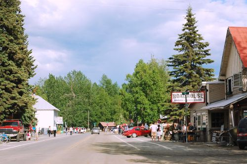 Downtown Talkeetna