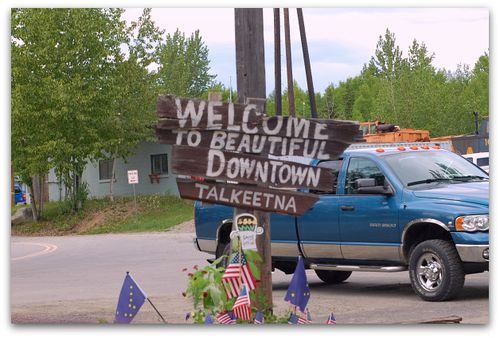 Talkeetna Sign