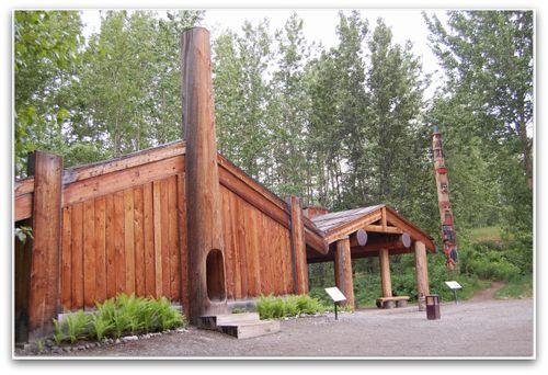 Eyak Log House