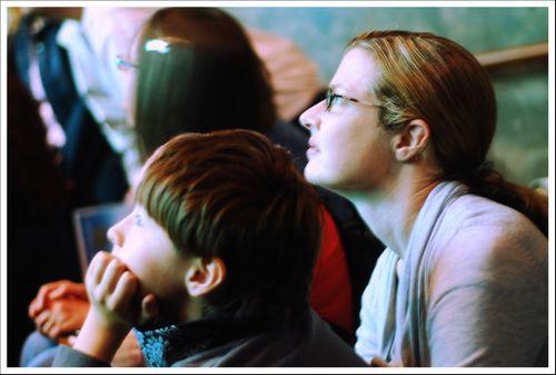 Monterey Aquarium Watching