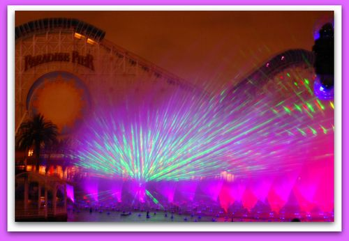 World of Color Burst