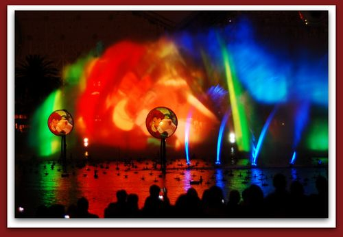 World of Color Lion King