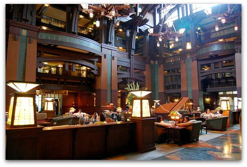 Grand Californian Lobby