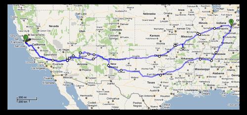 Xmas Route