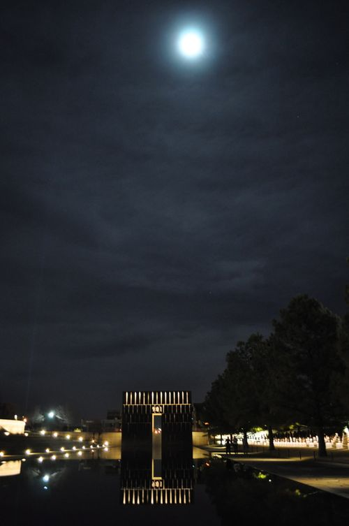 OKC Memorial Moon