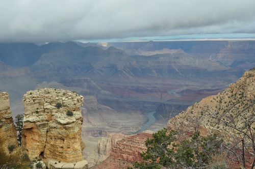 Grand Canyon Fog Lifted