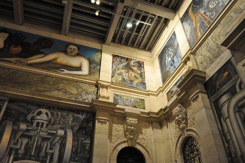 Diego Rivera Courtyard Detroit DIA