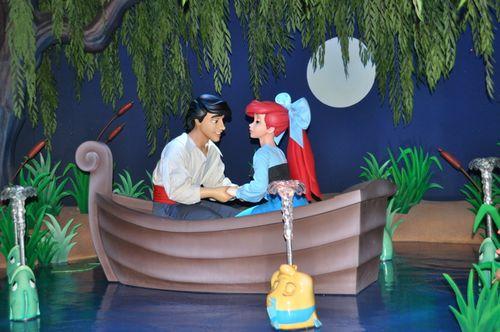 Little Mermaid Rowboat
