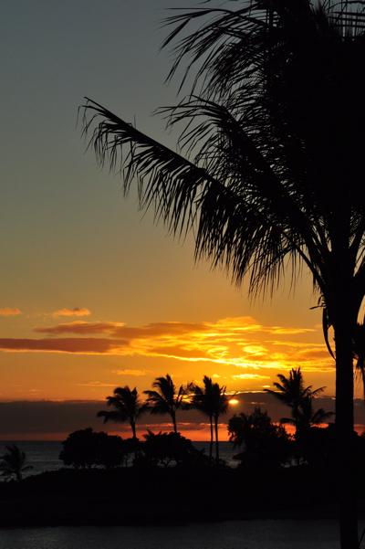 Disney Aulani Hawaii Sunset