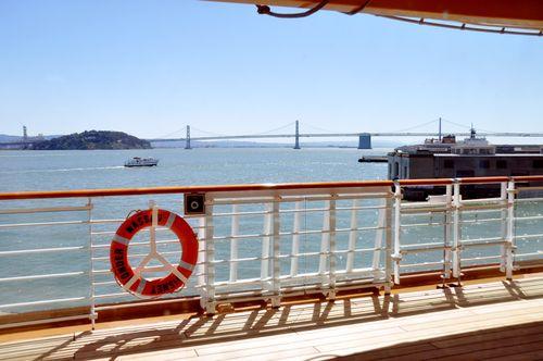 Bay Bridge from Disney Wonder