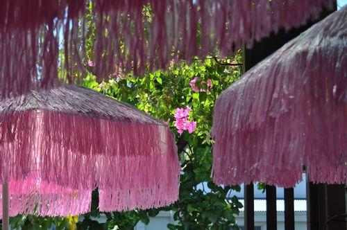 Maui Pink Umbrellas