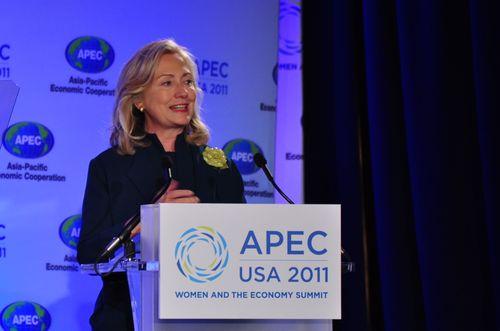 Hillary Clinton APEC