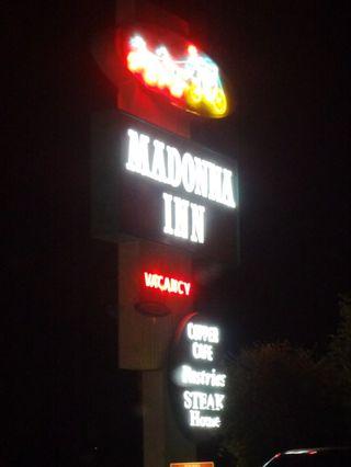 Neon Madonna Inn