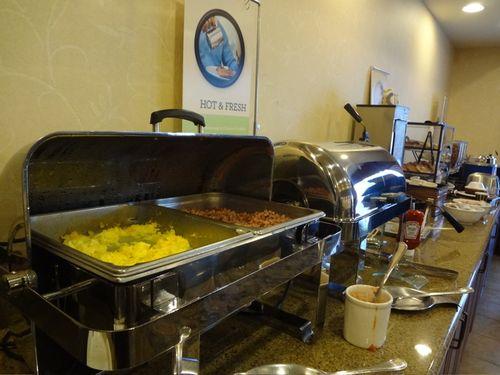 Country inns suites breakfast