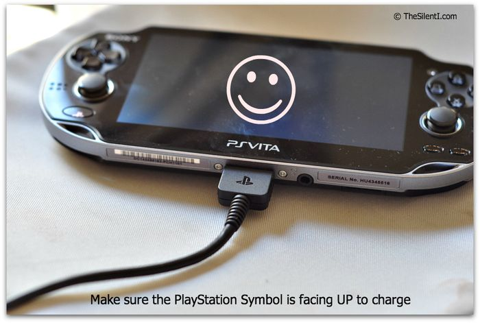 PS Vita Correct Connection Charge