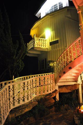 Night Madonna Inn