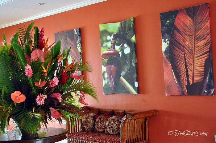 St Lucia Bay Gardens Resort Lobby