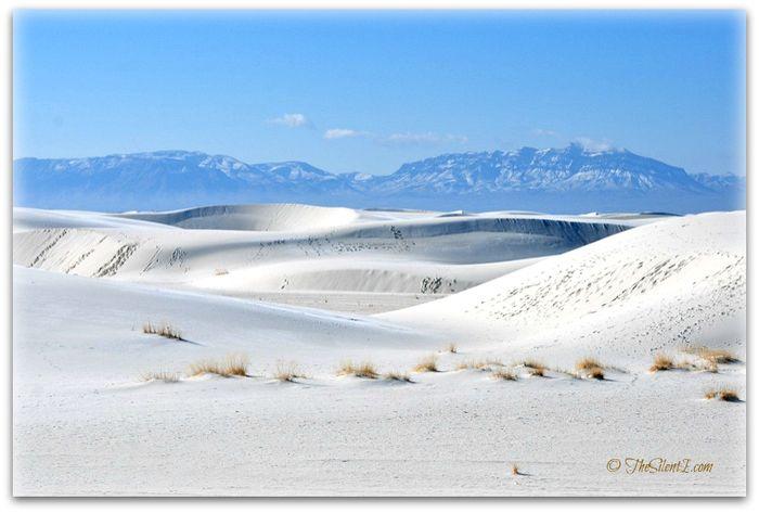 White Sand Landscape