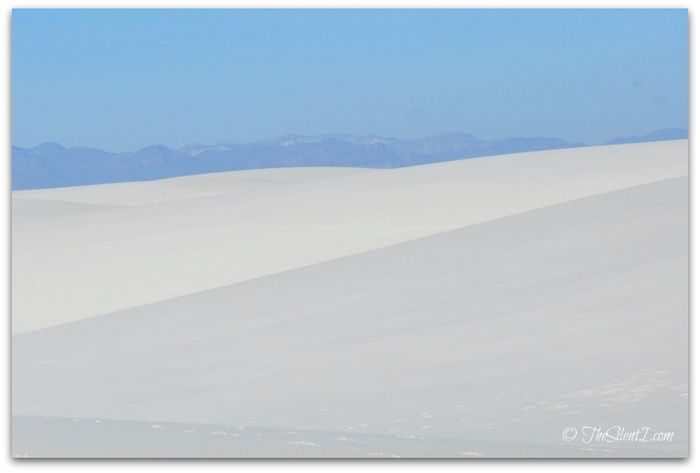 White Sands Contrast