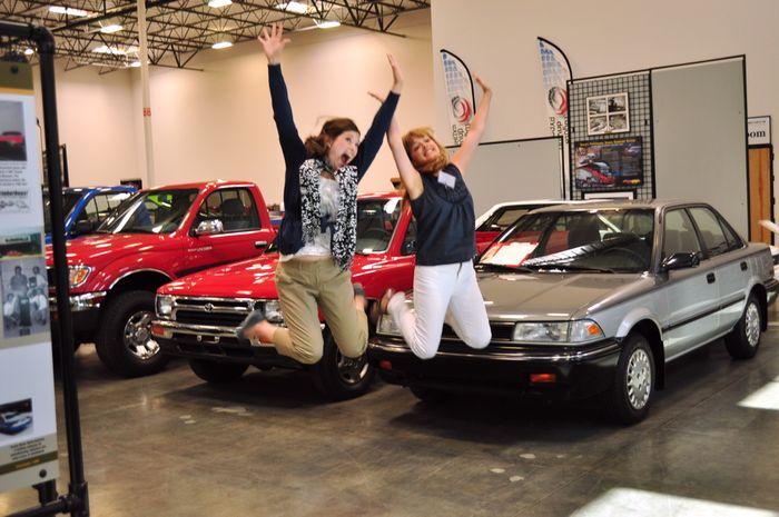 Toyota Museum Jenny Jill Jump