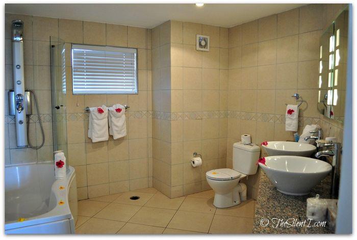St Lucia Bay Gardens Bathroom