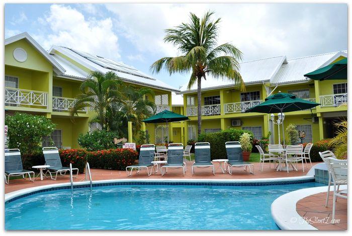 St Lucia Bay Gardens Hotel Pool 2