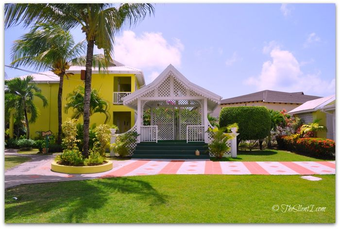 St Lucia Bay Gardens Hotel Wedding Gazebo