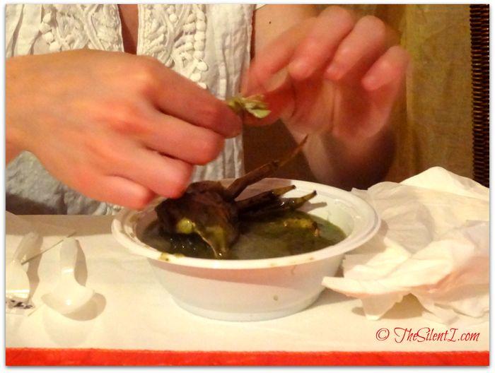 Food St Lucia Callaloo Crab Soup