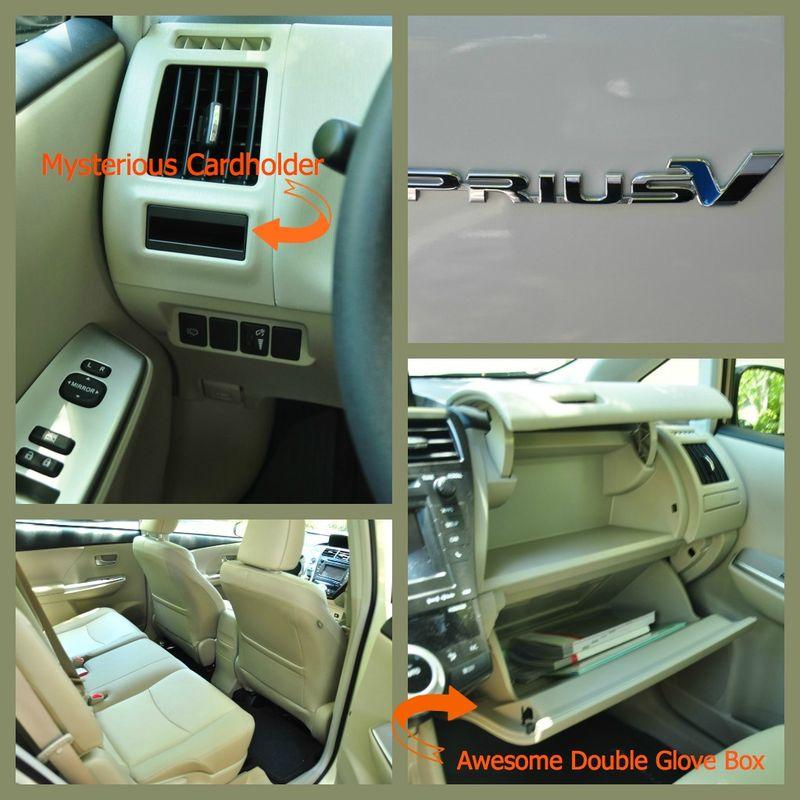 Prius v 2012 interior