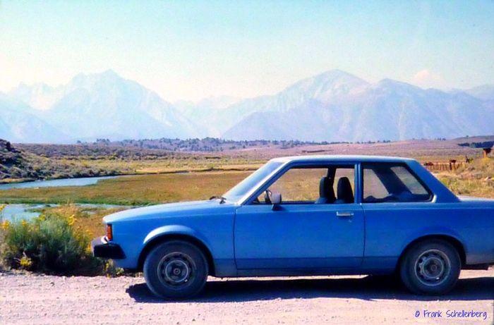 1981 Toyota Corolla & Eastern Sierras